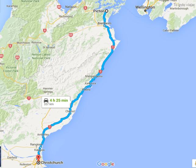 mapa ilha sul viajar de carro pela nova zelandia to indo viajar
