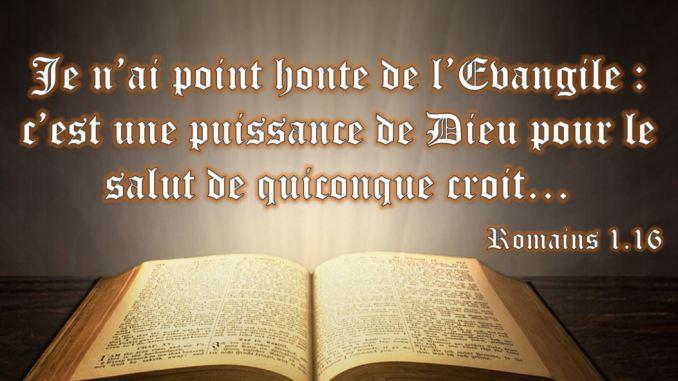 Romains 1.16