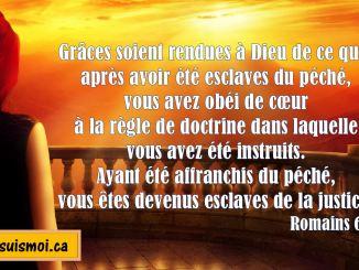 Romains 6.17-18
