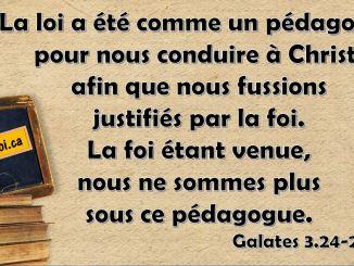 Galates 3.24-25