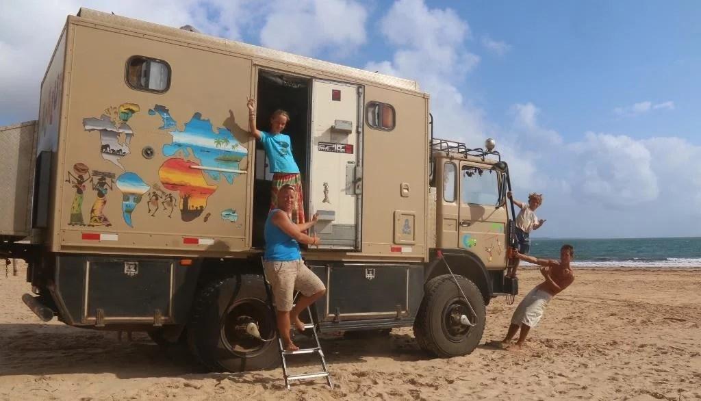 Essayer Le Nomadisme En Famille Les Dacaluf
