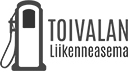 Logo: Toivalan Liikenneasema