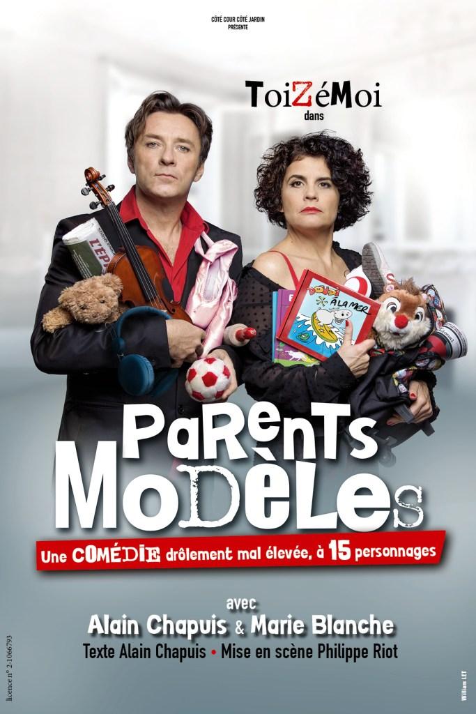 """""""Parents Modèles"""" le 15  octobre 2021 à Tournon sur Rhône (07). Théâtre Jacques Bodoin"""