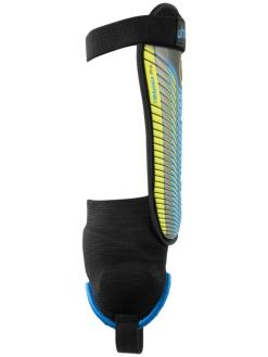 Uhlsport TIBIA PLATE PRO Benskinner black blue fluo yellow
