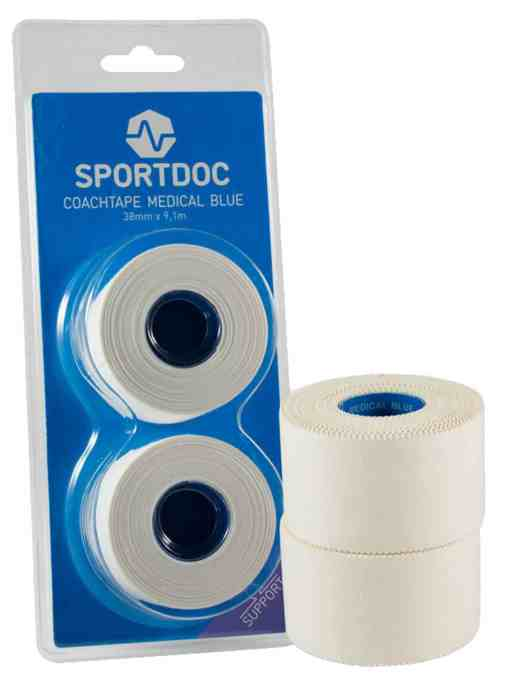 Sportdoc Coachtape Medical Blue 2-Pack
