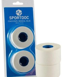 Sportdoc Coachtape Medical Blue 2-Pack