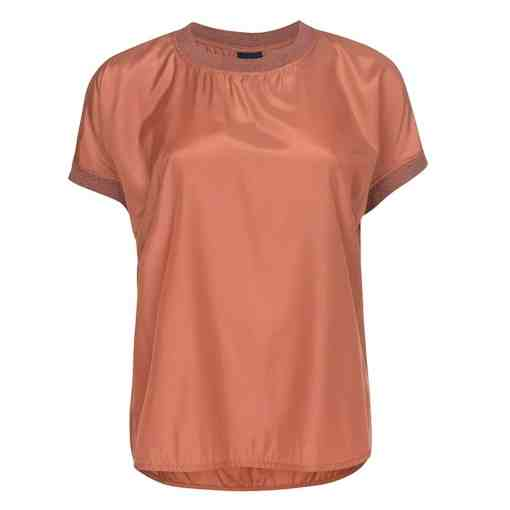One Two Luxzuz Nessie Blouse Bright Copper