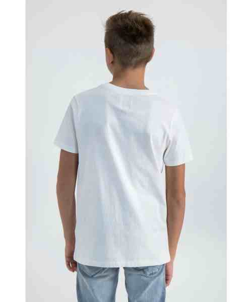 Garcia T-shirt M03403 Broken White
