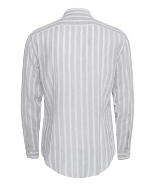 Casual Friday Skjorte Arthur CC Light Grey Melange