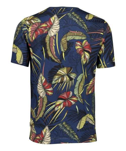Lindbergh White T-shirt Palm Print