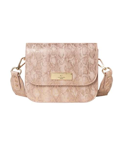 Rosemunde Bag Small B0253-9433 Nougat Snak Foil Gold