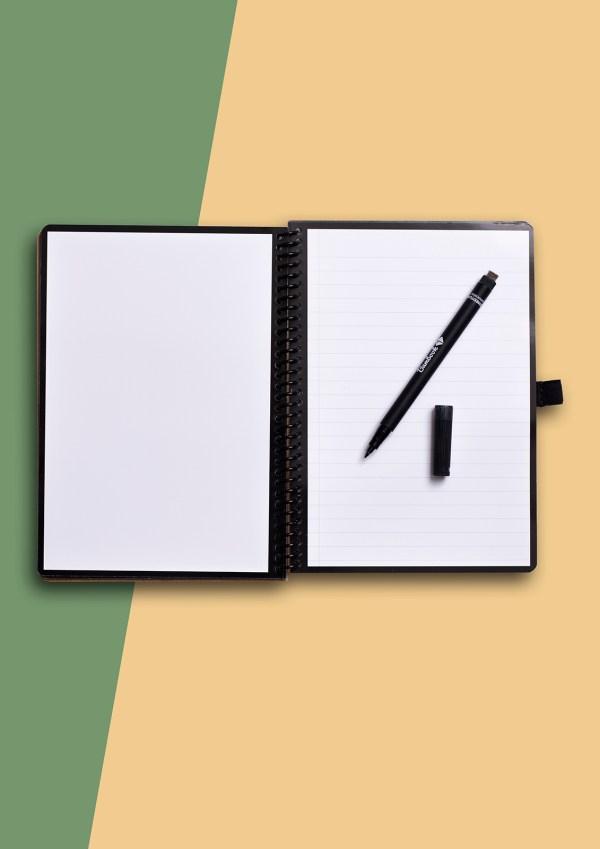 Eindeloos notitieboek binnenkant