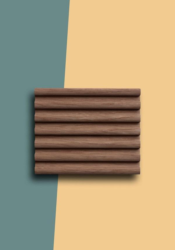 zeep plankje schaaltje hout