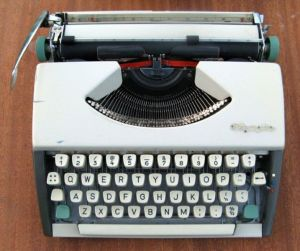 Empisal Portable Typewriter - One of the items for sale