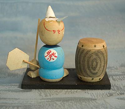 Kokeshi Japanese Wooden Doll Old Naruko Style Ningyo Japan Tokaido Softypapa KimonoObi