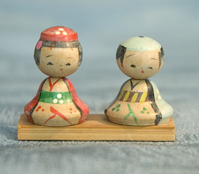 Kokeshi Ningyo Doll Figure Figurine Japan Japanese Nippon Nihon Tokaido Softypapa