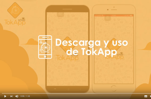Descarga y Uso de TokApp: Cómo instalar la app y encontrar el colegio