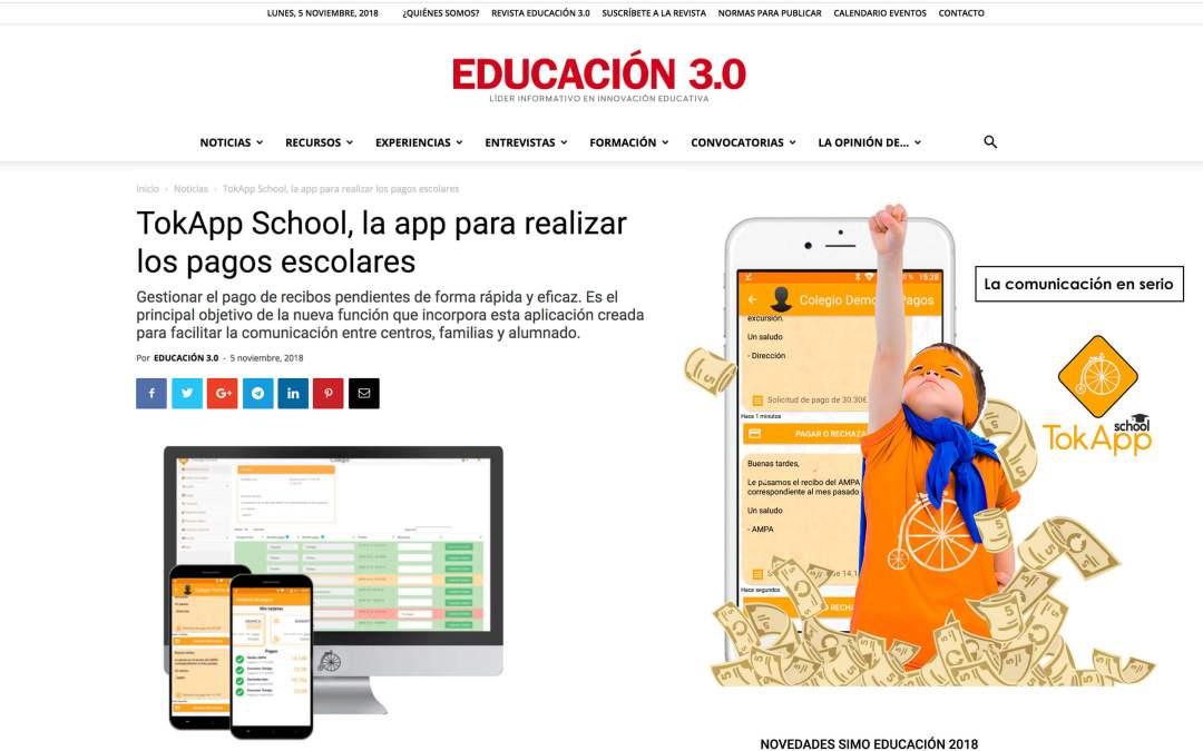 Pagos a través de TokApp – Educación 3.0