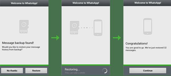 как создать резервную копию или бекап в whatsapp