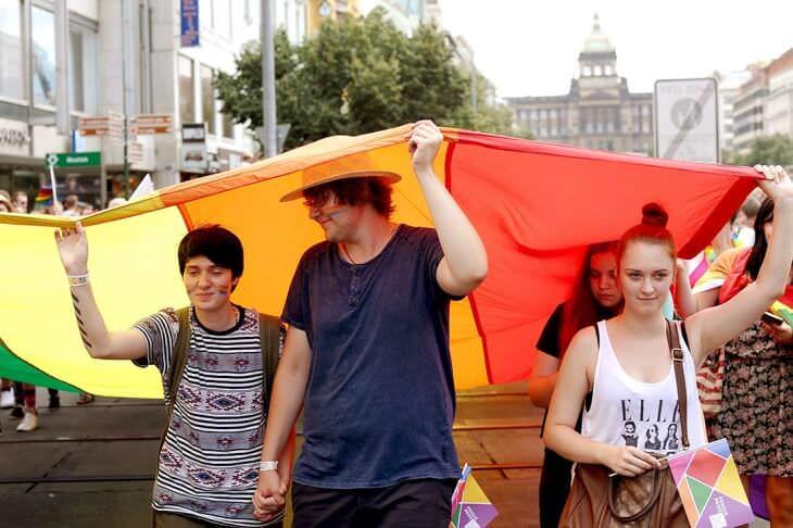 гей-парад Прага 4339