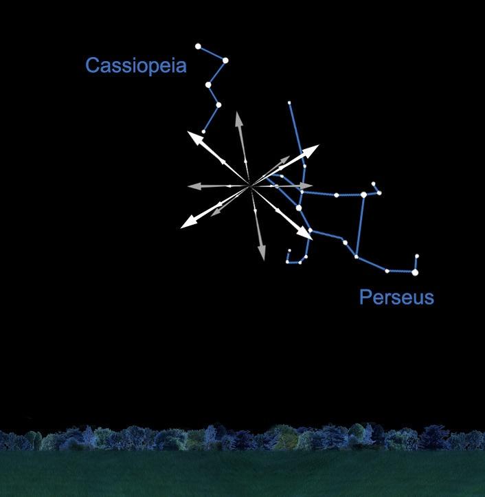 Кассіопея та Персей