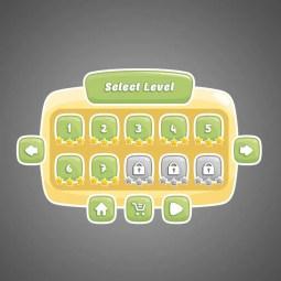 Classic Game UI - 2D Game GUI
