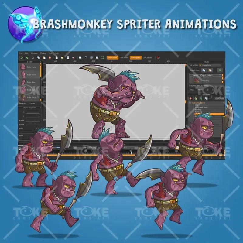 Dungeon Guard - Brashmonkey Spriter Animation