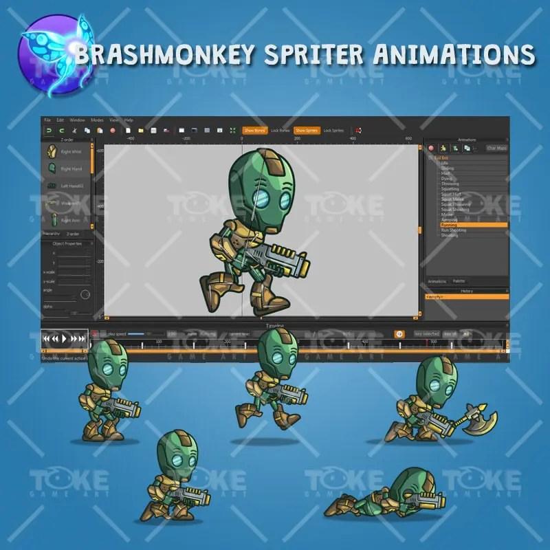 Evil Bot - Brashmonkey Spriter Animation