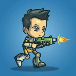 George From The Space Squad - 2D Character Sprite