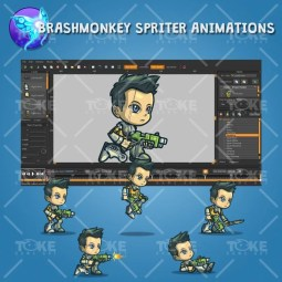 George From The Space Squad - Brashmonkey Spriter Animation