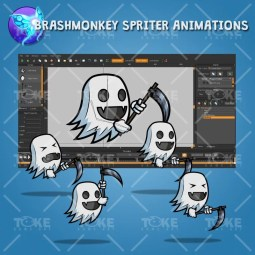 Ghost – Brashmonkey Spriter Animation