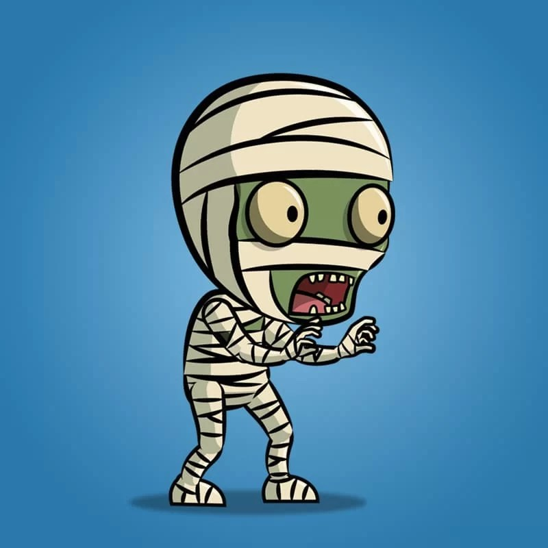 Mummy - 2D Character Animation