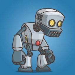 Big Hands Robot - Character Sprite