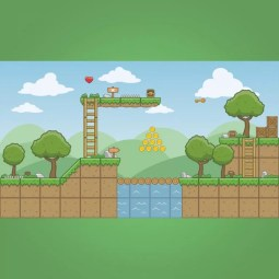 Cartoon Town - 2D Game Tileset