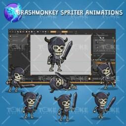 Skull Knight - Brashmonkey Spriter Animation