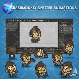 Super Monkey - Brashmonkey Spriter Animation