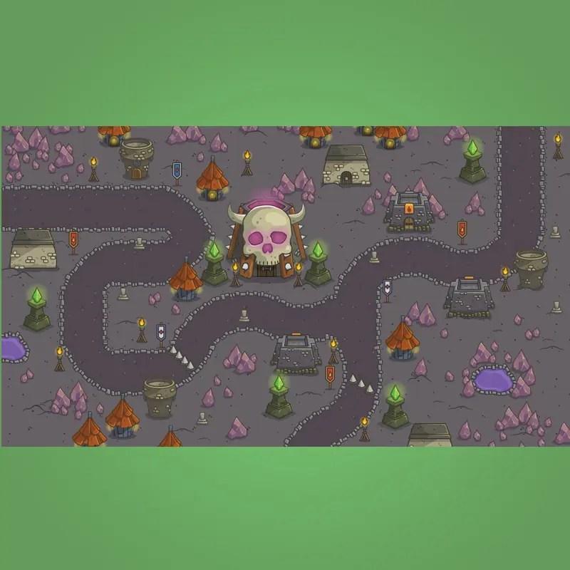 Dungeon Top-Down Game Platformer