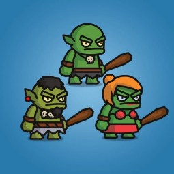 Ogre Tiny Style Character - 2D Character Sprite