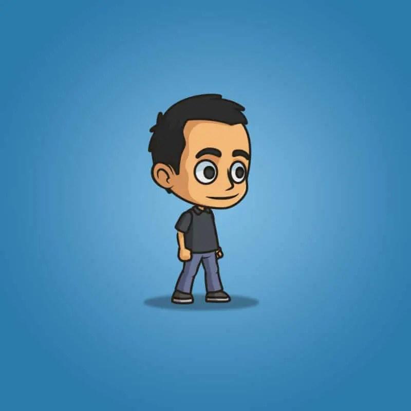 Hero Guy - 2D Character Sprite