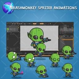 Good Alien - Brashmonkey Spriter Animation