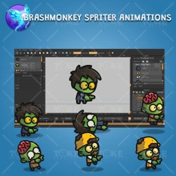 Tiny Zombies - Brashmonkey Spriter Animation
