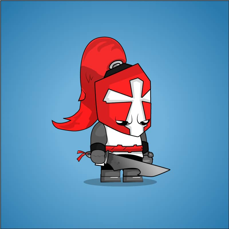 Chibi Crusader Knight