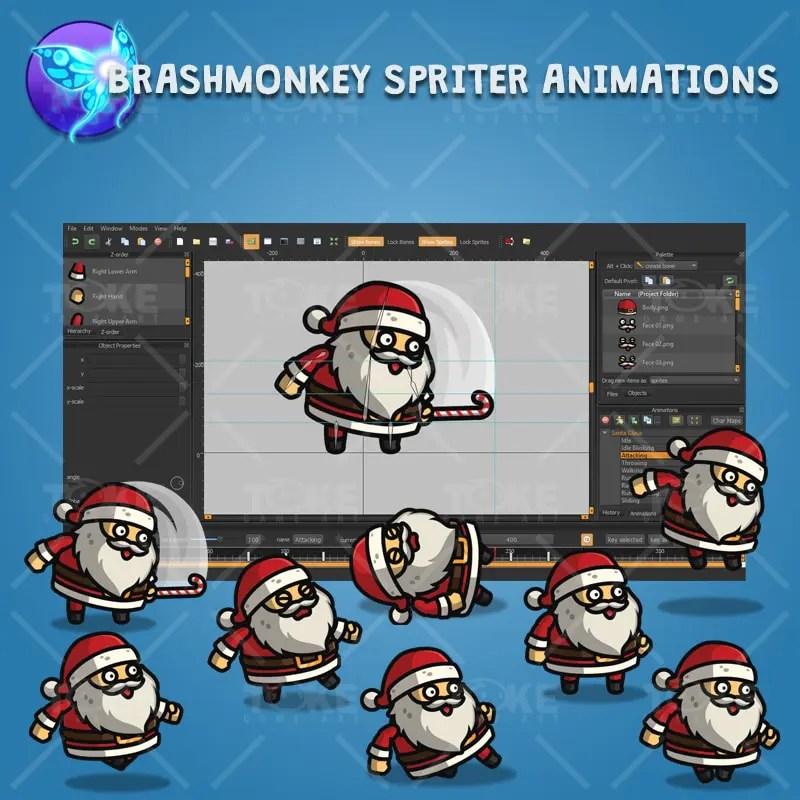 Santa Claus - Brashmonkey Spriter Character Animation