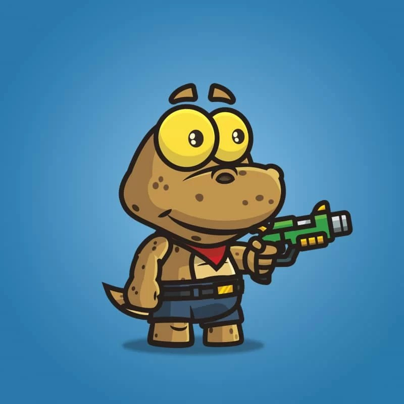 Cute Gecko