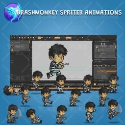 Prisoner - Brashmonkey Spriter Character Animation