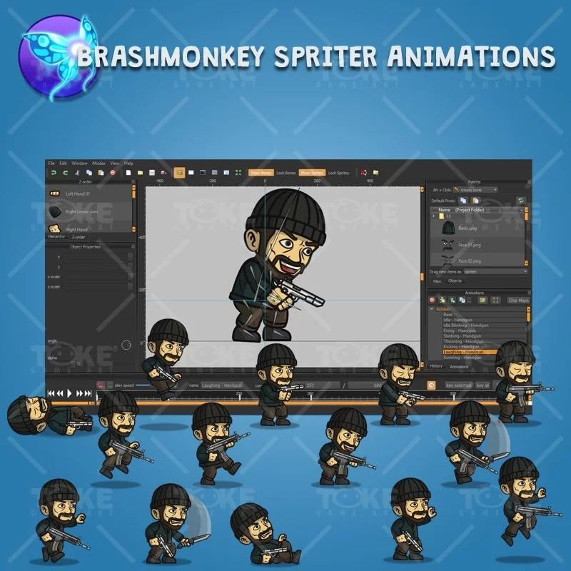 Robber - Brashmonkey Spriter Character Animation