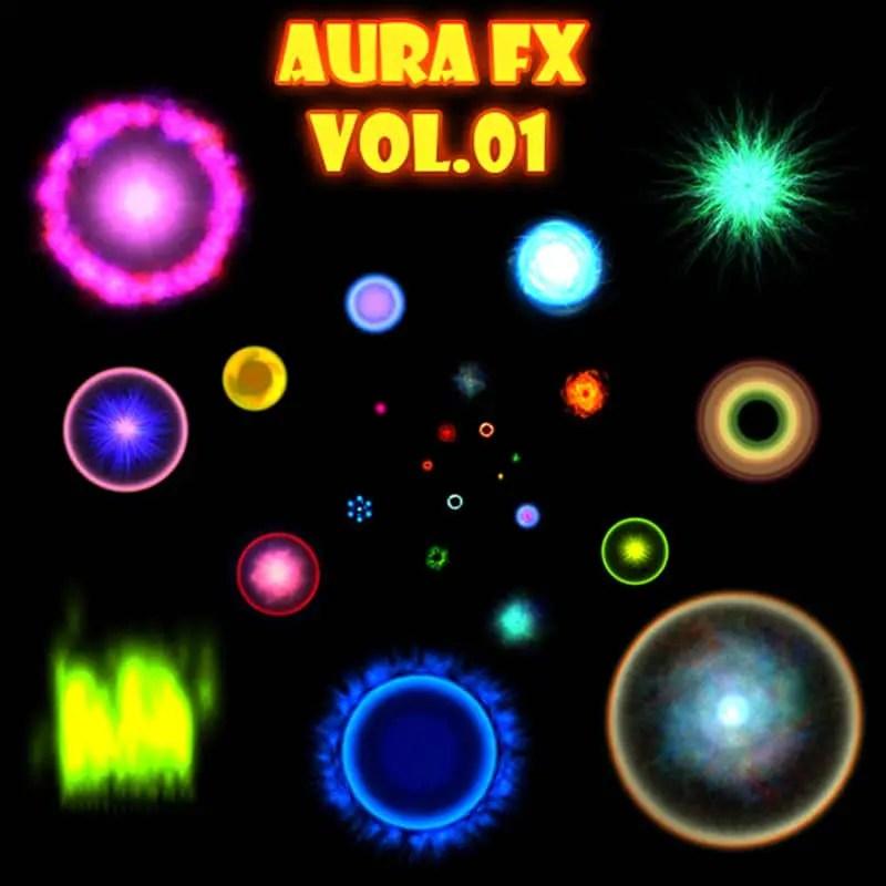 Aura FX Vol 01 - Game Visual Effect