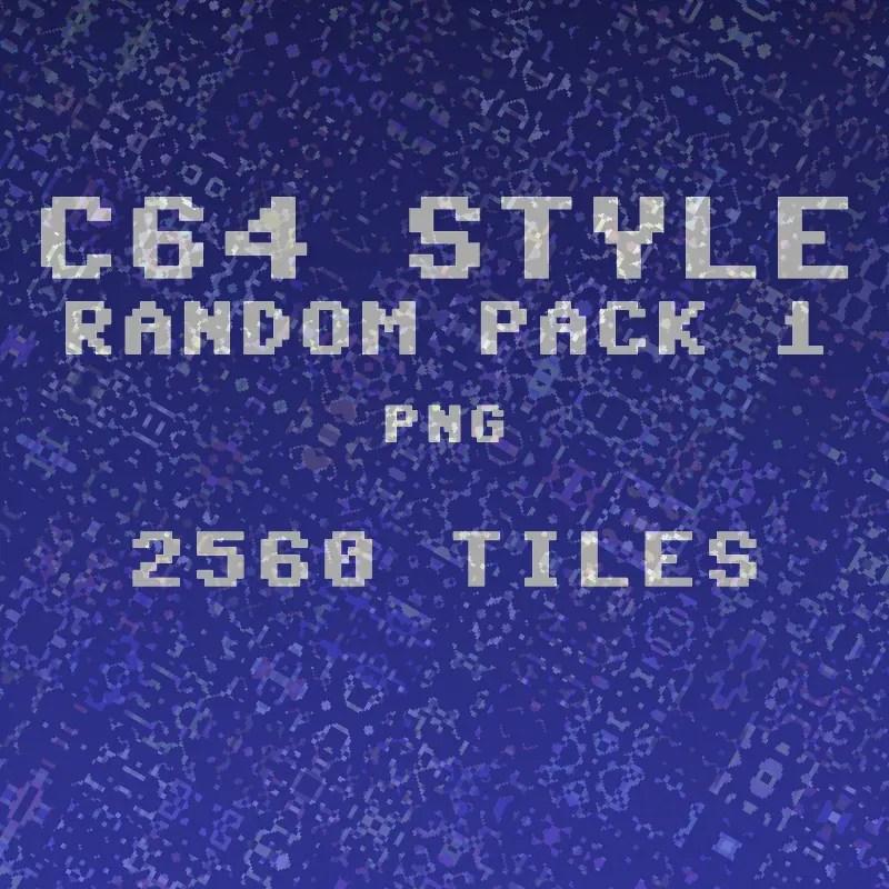 Random Tiles Pack 1 - 2D Game Tileset