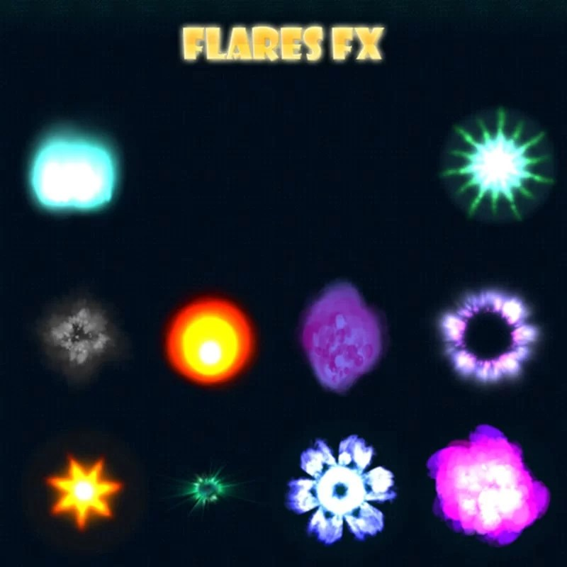 Flare FX - Game Visual Effects for Game
