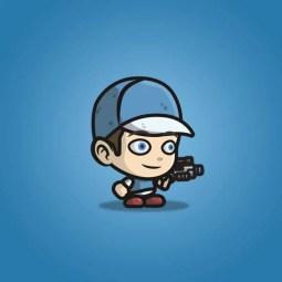 Adventurous Guy 02 - 2D Character Sprite